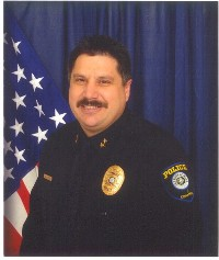 Photo of Police Chief Stephen Rhodes in uniform