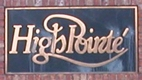 High Pointé Neighborhood Entrance Sign