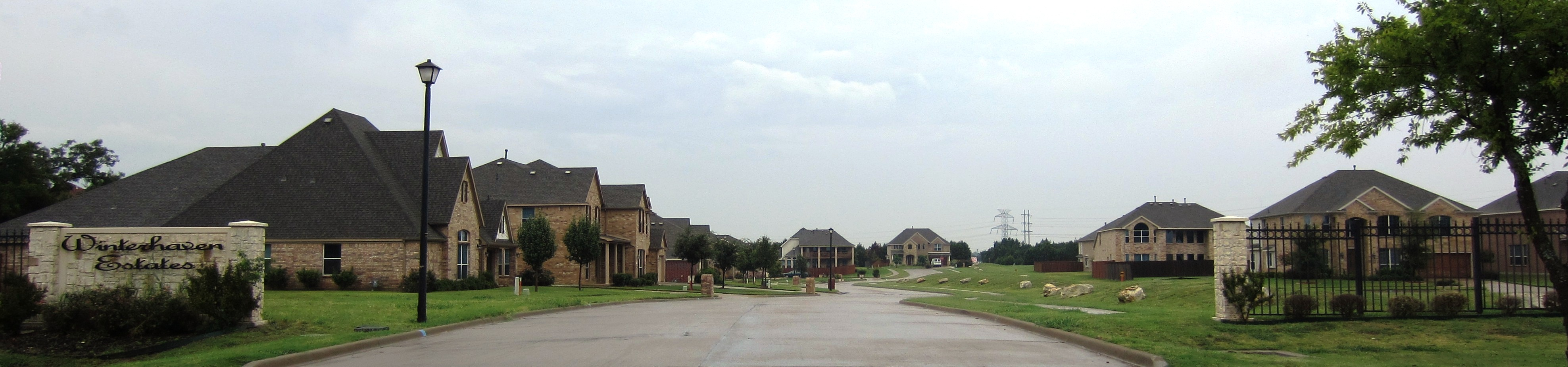 Winterhaven Estates Neighborhood Entrance