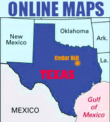 Texas-Map-Symbol