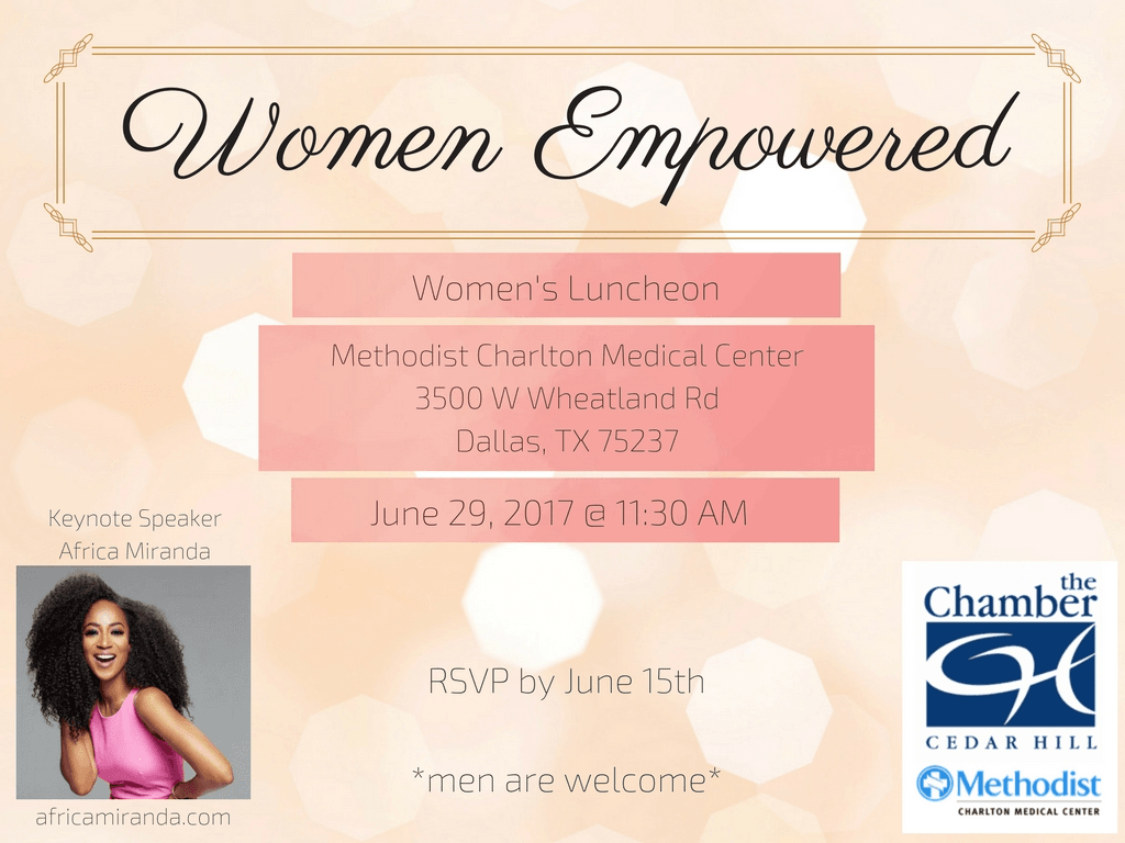 Womens Empowered Luncheon