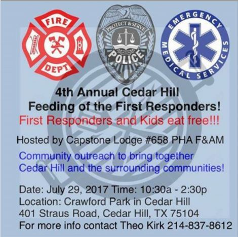 feeding first responders