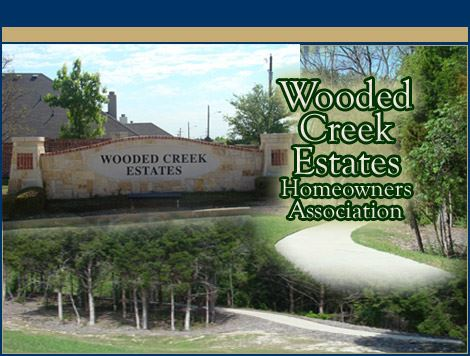 Wooded Creek Sign