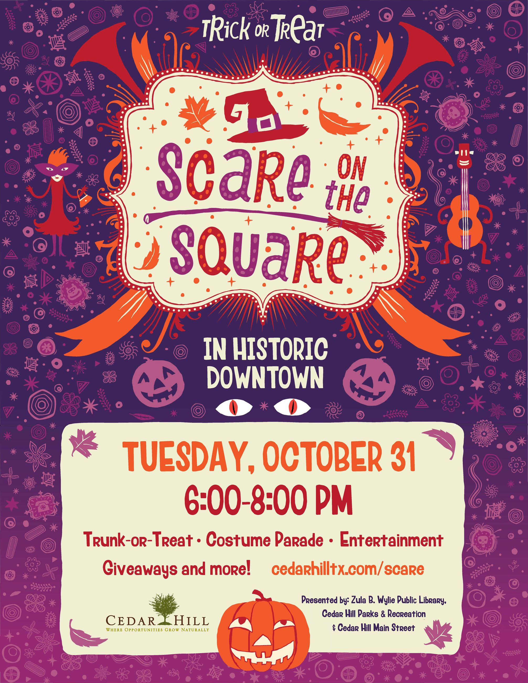 2017ScareontheSquare