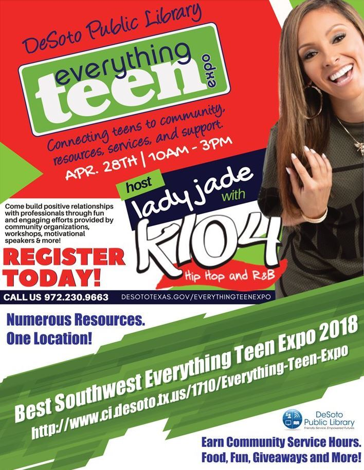 Best Southwest Everything Teen Expo Flyer