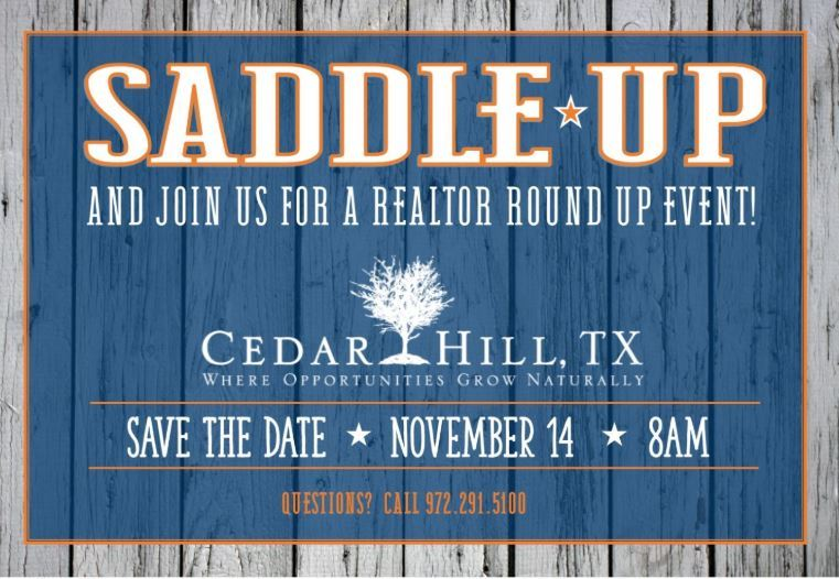 Realtor Round Up Flyer