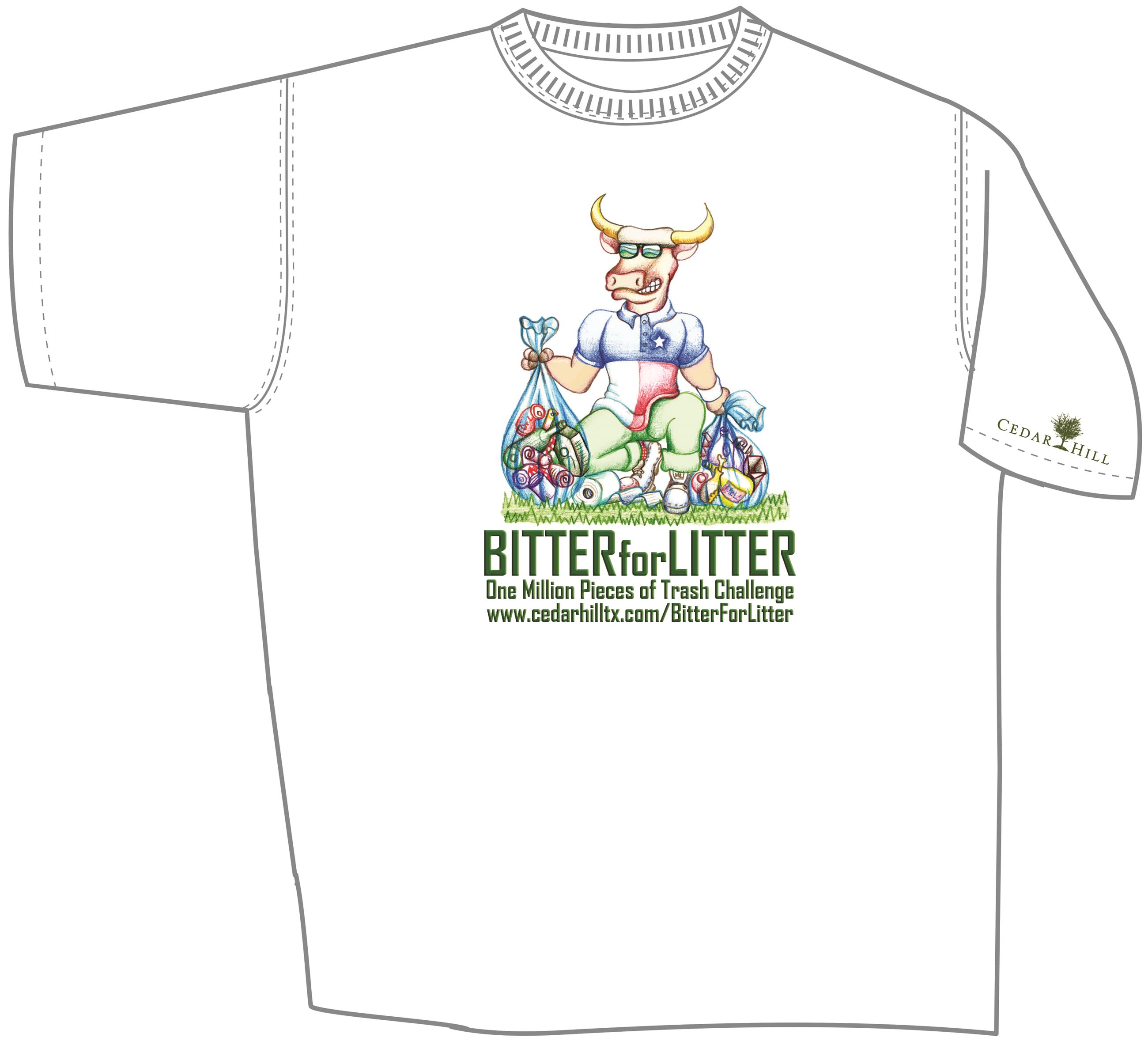 Bitter for Litter shirt