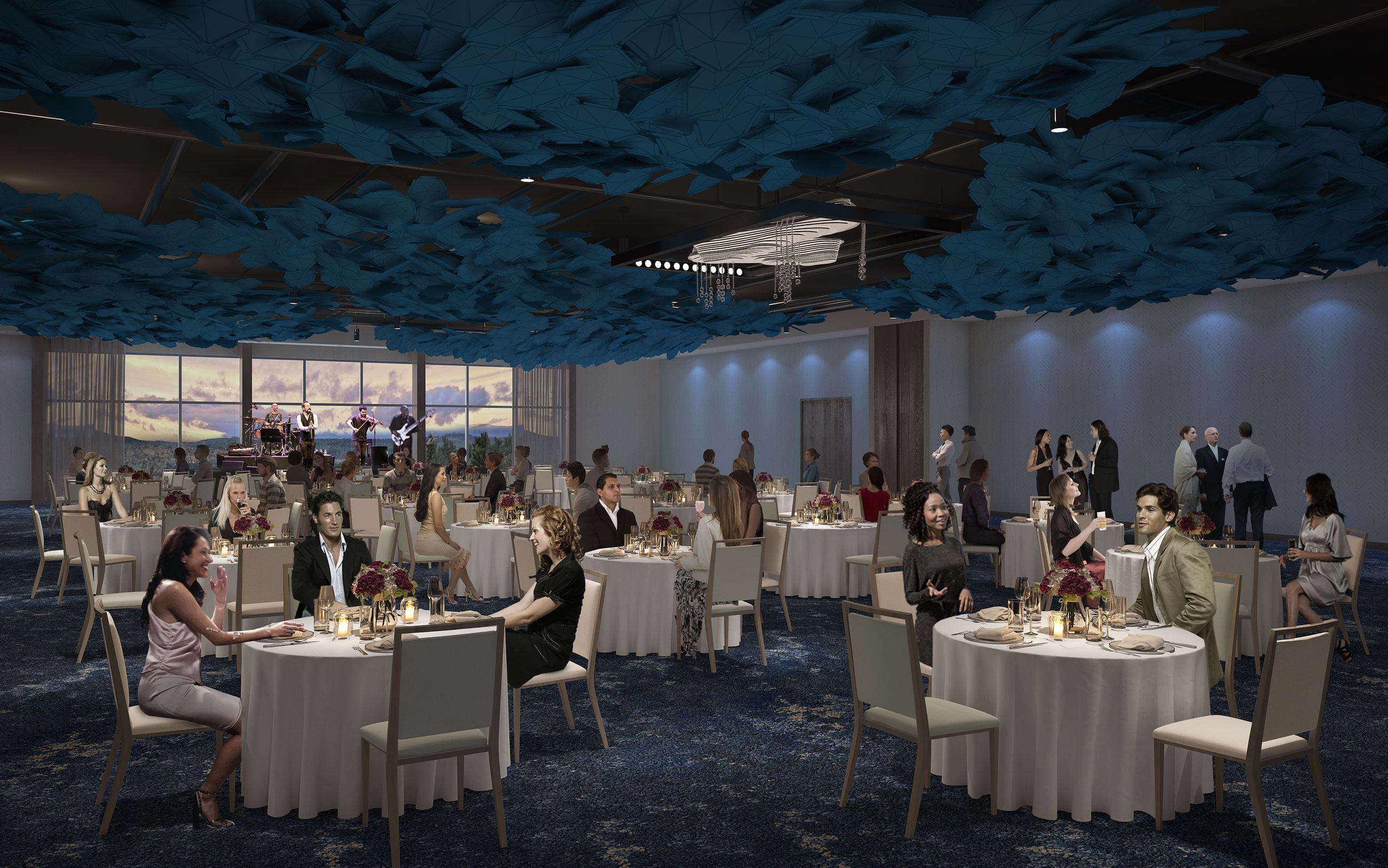 Aloft Cedar Hill - Final Ballroom Rendering