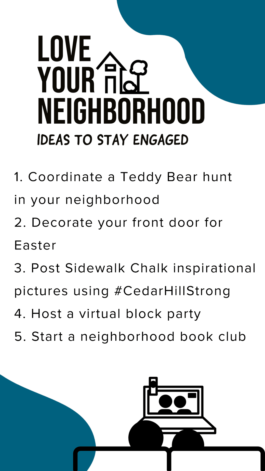 Ideas to stay engaged