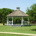 Bradford Park Gazebo surrounded by trees..jpg