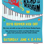 Summer Reading Kick Off