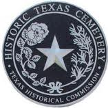historic cemetery medallion
