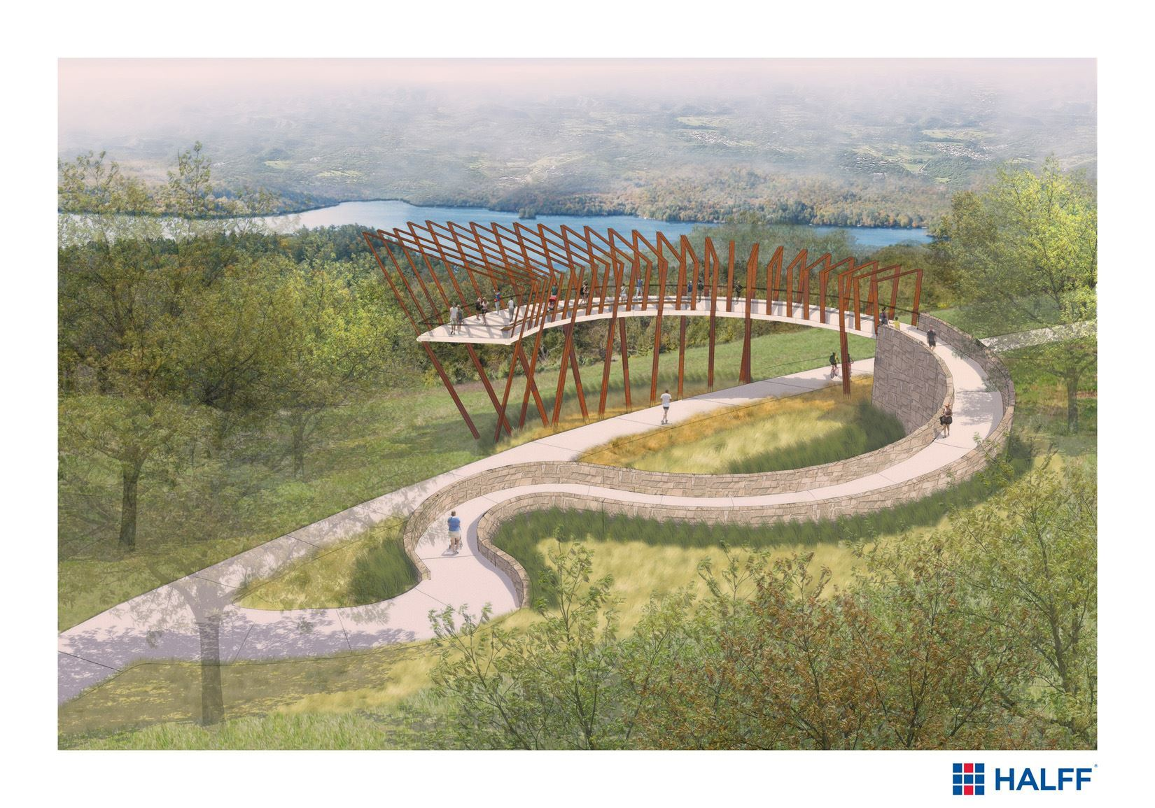 Artist Rendering of Overlook