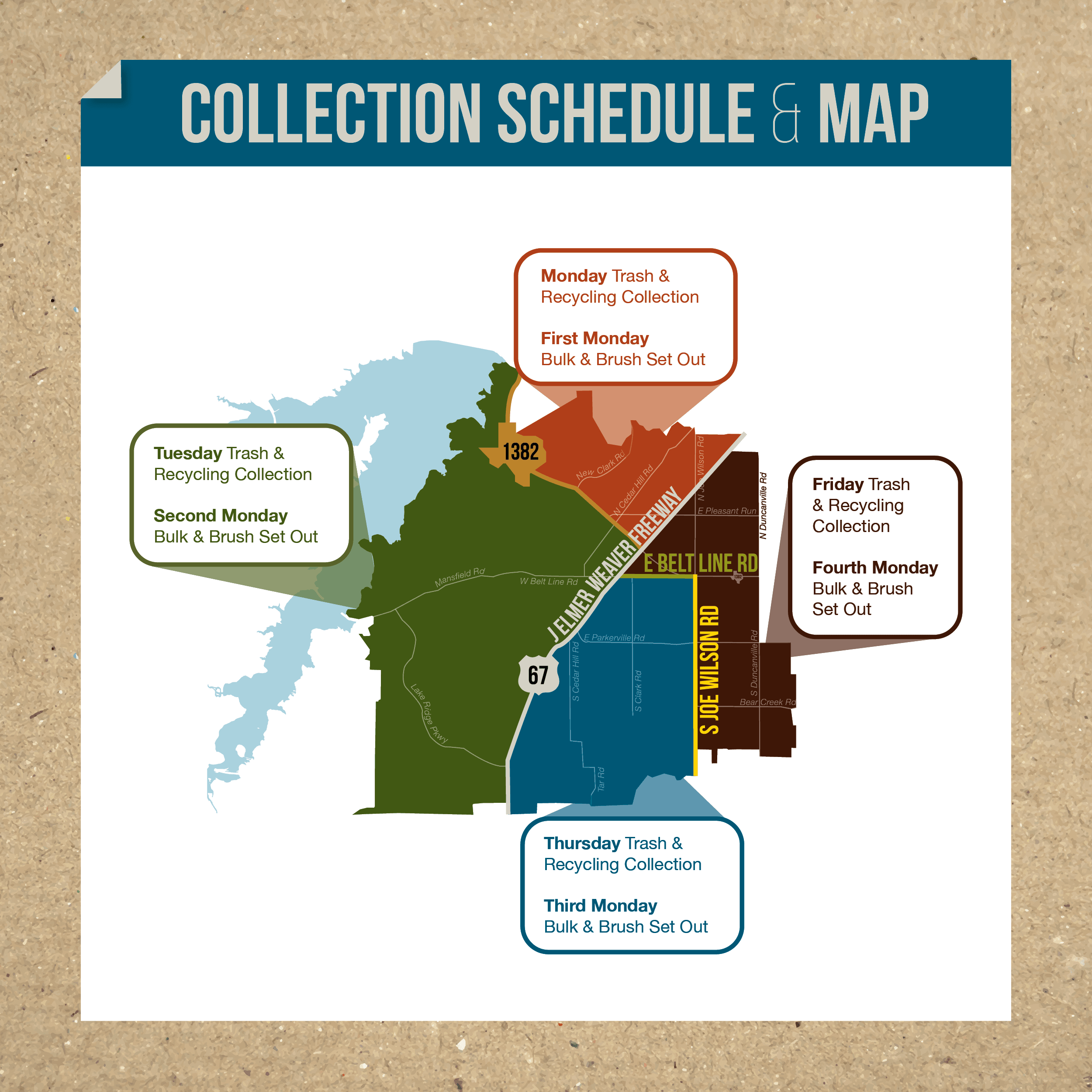 Collection Schedule Map