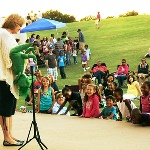 Kids on the Hill activity offers staged entertainment to children..jpg